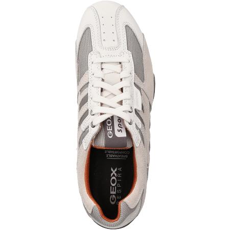 Geox SNAKE - Weiß,kombiniert - Draufsicht