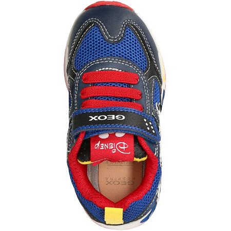 Kinderschuhe Sneaker GEOX J0294A 01454 C0735 JR SHUTTLE BOY