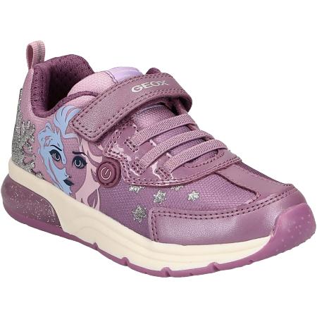 Kinderschuhe Sneaker GEOX J028VD 011AJ CE8Q8 SPACECLUB im