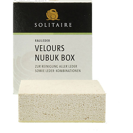 Solitaire Verlours Nubuk Box - Neutral - Hauptansicht