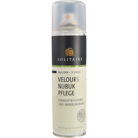 Solitaire Velours Nubuk Spray - Schwarz - Hauptansicht